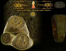 A ring is LP POU,Wat BanTaAud,Thailand,Celebrate the age of 89 years.