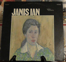 Janis Ian 1967 Verve/Folkways label FTS-3017 Vinyl LP Record