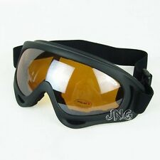 BRAND NEW  UV-400 PROTECTION SMOKE LENS MOTORCYCLE JET SKI PADDED GOGGLES