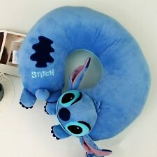 BNWT Soft Stitch Plush Travel U shaped Neck Pillow Car Cushion Toy Lilo&Stitch