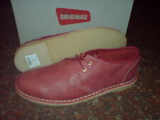 New Clarks Original Mens ** DESERT JINK ** BLUSH PINK LEATHER **  UK 8.5 / 8