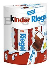 FERRERO - Kinder Riegel - 210 g = 10 pcs - German Production