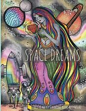 Space Dreams: Sci-Fi Adult Coloring Book Adventure by LightBurst LightBurst...