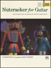 Nutcracker for Classical Guitar in TAB Sheet Music Book Intermediate Solo