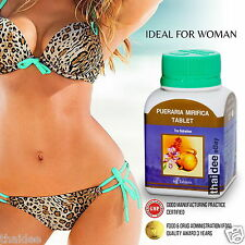 Pueraria mirifica Phytoestrogens Relieve Menopause Bust Boost Breast Enlargement