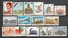 India 1993 Selection of 15 Mint Never Hinged Stamps