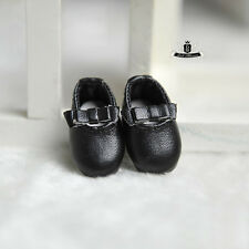 1/8 BJD Shoes LATI SP Dollfie LUTS DIM DOD AOD SOOM MID Tiny Black Lolita Shoes