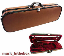 New Model Enhanced 3/4 Foamed/Oblong Shape Violin Case+Free violin String