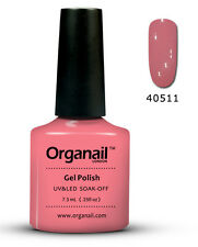 Vernis à ongle semi permanent 11 Rose Bud organail Gel UV LED Manucure soak