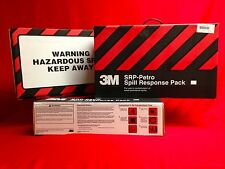 (Lot of 3) Spill Response Kit 3M Petrol/Oil based Cleanup SRP-PETRO 9 mini booms