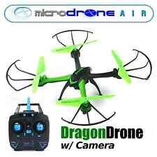"""MicroDRONE Dragon DRONE Quadcopter w/ Cam Remote Control 10"""""""