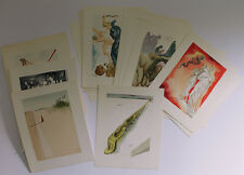 Great Original 1960 DALI Set of 100 SIGNED DIVINE COMEDY Woodcuts AUTHENTIC COA