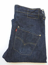 LEVI'S TYPE 3 TWISTED ENGINEERED JEANS W32 L30 DARK BLUE STRAUSS LEVG457