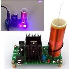 Music Tesla Coil Board Kits Plasma Speaker Arc Ignition Wireless Transmission 24