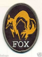 OVAL FOXHOUND GRAY BORDER PATCH - FXHND7