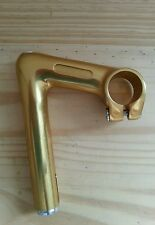 Vintage Milremo gold anodized Stem 85mms Nos.