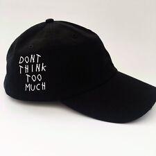 Dont Think Too Much Hat Anti Social Club TUMBLR HIPSTER EMOJI Drake Shopjeen