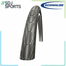 "1x SCHWALBE DELTA CRUISER BLACK 26"" X 1 3/8 PUNCTURE RESISTANT WIRED BIKE TYRE"