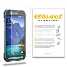 2X For Samsung Galaxy S5 Active EZguardz Premium Tempered Glass Screen Protector