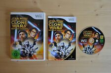 Wii - Star Wars: The Clone Wars - Republic Heroes (OVP, mit Anleitung)