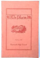 1928 Plymouth High School Quarterly~Fall Issue, Plymouth, Massachusetts