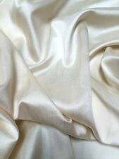 """PLAIN FAUX DUPION RAW SILK 100% POLYESTER FABRIC FREE P&P 54"""" WIDE"""