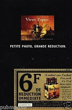 Publicité advertising 1994 Le Vin Vieux Papes