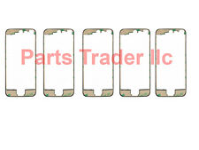 Lot 5 Pc LCD Touch Screen Front Middle Frame Bezel For iPhone 5S Black 3m Tape