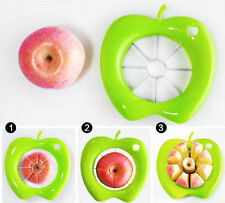 Swift Kitchen Fruit Apple Pear Corer Slicer Wedger Divider Cutter Cut Pie Dicing