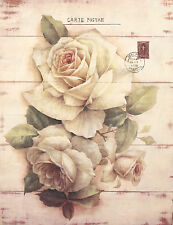 Wall Art Wooden Frame Flower Sign French Provincial Home Rustic Home Decor 78cm