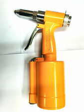 "Sumake Brand Air Hydraulic Riveter ST-6615 Pneumatic Rivet Gun 3/16"" capacity"