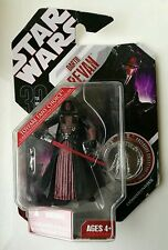 VERY RARE Star Wars 30th Anniversary Hasbro Figure Darth Revan Carded #34 Scarce
