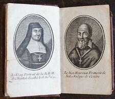 AMABLE BONNEFONS : Pratique de la confession et de la communion ..1751