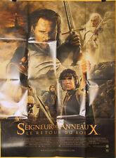 Affiche  LE SEIGNEUR DES ANNEAUX : LE RETOUR DU ROI. 120x160 cms.