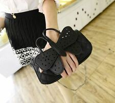 Super Cute & fun casual Black 3D Girls Butterfly Clutch with Shoulder Strap