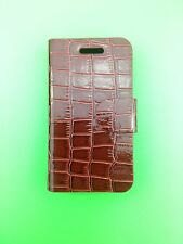 LUXURY PU BROWN LEATHER CASE for Samsung Galaxy Ace GT-S5830/GT-S5830i