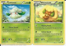 Pokemon Cards: Whimsicott 11/98 & Cottonee 10/98 Emerging Powers Evolution! NM