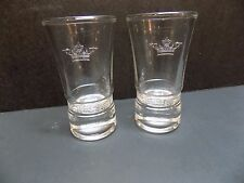 Set of 2 Sobieski Vodka Shot Glasses-Brand New!
