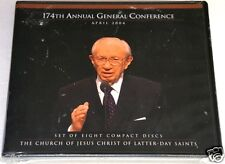174th GENERAL CONFERENCE Church Of Jesus Christ Latter Day NEW Sealed 8 CD Set
