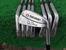 Maruman Golf Limited Edition Curtis Strange 3-PW Iron Set 717 / 750 CS-1 Irons