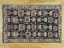 """6'6""""x10' Hand-Knotted Antique Persian Kurdish Full Pile Exc Cond Rug Sh32133"""