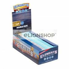 5x Packs ( Elements Single Wide 1.0 ) Ultra Thin Rice Cigarette Rolling Papers