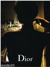 PUBLICITE ADVERTISING 105  2006  DIOR  parfum j'ADORE CHARLIZE THERON ( recto ve