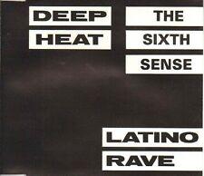 Deep Heat 6-The Sixth Sense (1990) Technotronic, Guru Josh, Lil Louis, .. [2 CD]