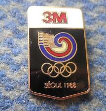 OLYMPIC SEOUL 1988 3M SPONSOR PIN BADGE