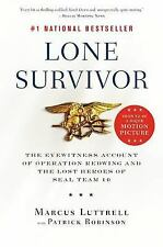 Lone Survivor: Marcus Luttrell (NEW softcover)