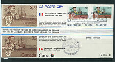 Weeda Canada Thematic Collection #25, 1984 Jacques Cartier post card CV $7.50