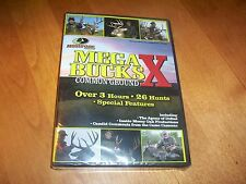 MEGA BUCK X Common Ground Deer Hunting Mossy Oak 26 Hunts Hunter DVD SEALED NEW