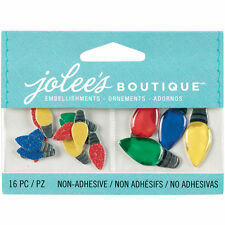 "***BRAND NEW** Christmas Jolee's Boutique ""XMAS LIGHTS""  50-00614"