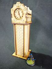 TTCombat - Old Town Scenics - Clock Tower - Great for Malifaux
